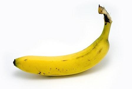 банан перед бегом