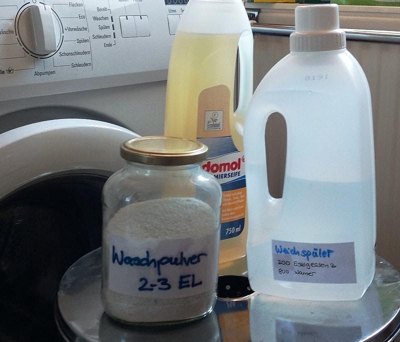 Waschmittel selber machen