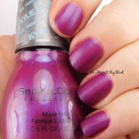 Sinful Colors Korset nail polish swatch + review [Kylie Trend Matters collection]