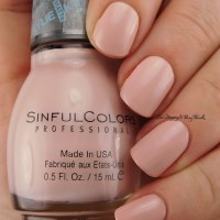 Sinful Colors Kylie Koral Riff, Taupe is Chic, Kitty Pink swatches + review