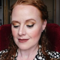 Makeup look with Glamour Doll Eyes, Jesse's Girl, Jordana Sweet Cream Matte
