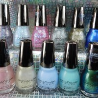 Sinful Colors Kandee Johnson Vintage Anime nail polish collection swatches + review