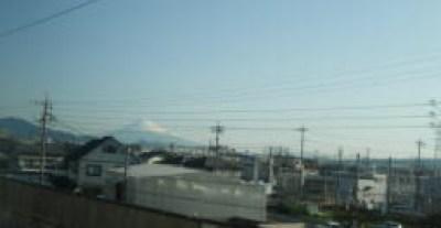 新幹線からの左富士