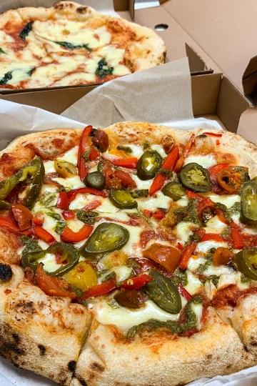 Dough Dough Pizza Co, Behavioural Foodie, pizza, dundee, mobile pizzeria