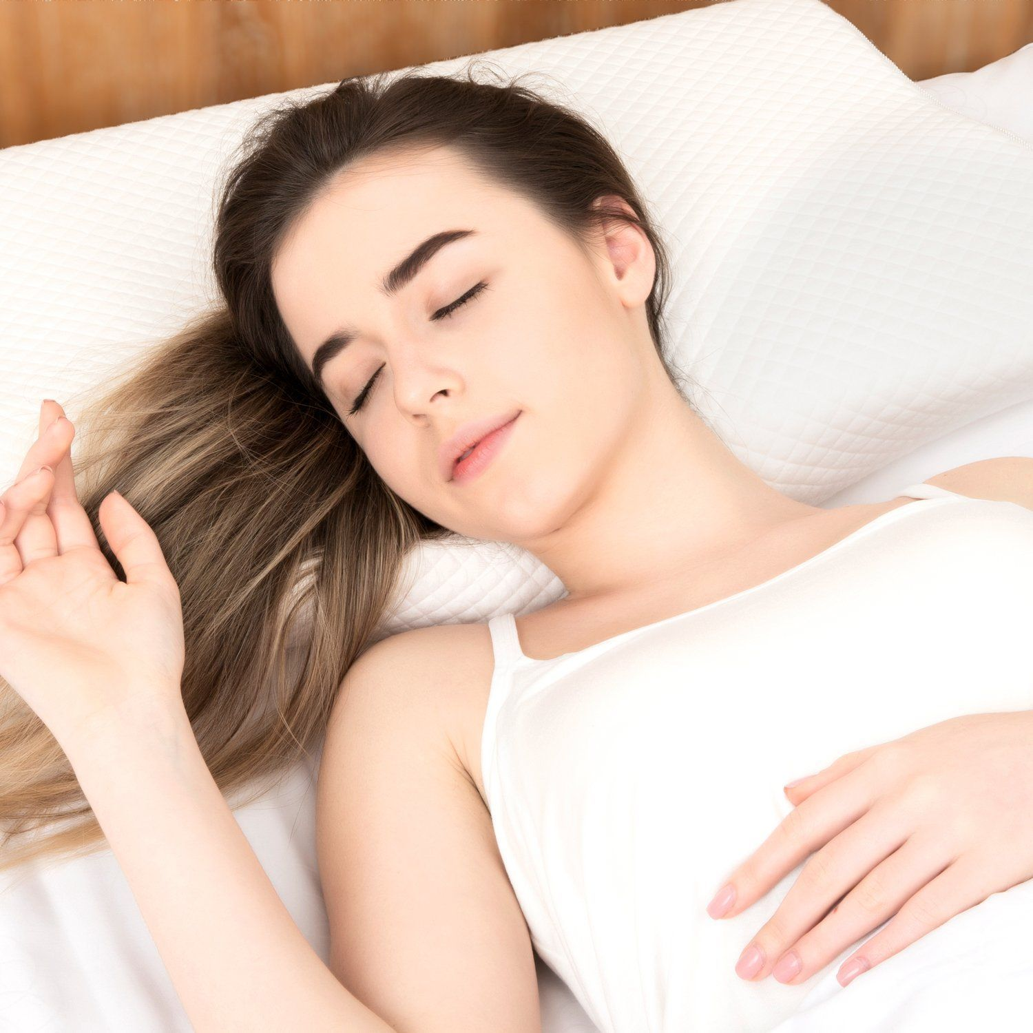 contoured cervical orthopedic pillow