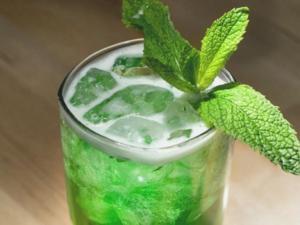 mint tea cold