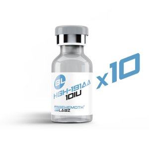 HGH 191AA-100IUs Kit  10x Vials Growth hormone (GH) or somatotropin, is a peptide hormone that stimulates growth, cell reproduction, and cell regeneration