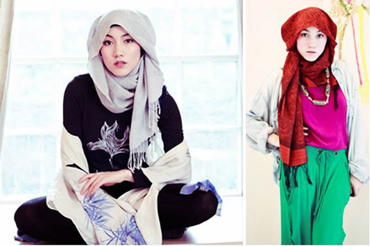 Tips Untuk Hijab Style Ala Korea Blog Behijab Koleksi