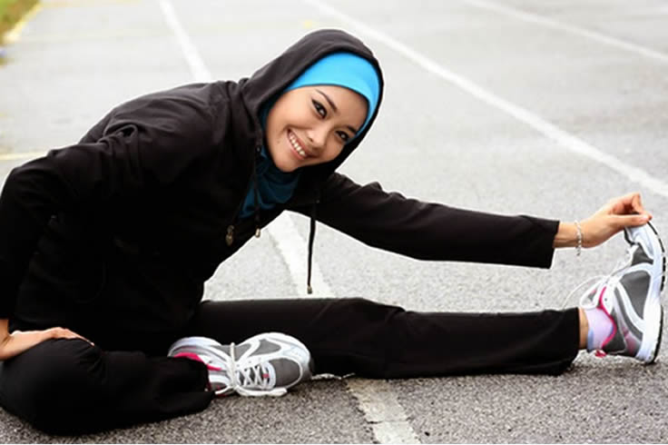 lihat Berhijab Tips Model Busana Hijab Pas Untuk Olahraga Blog Behijab