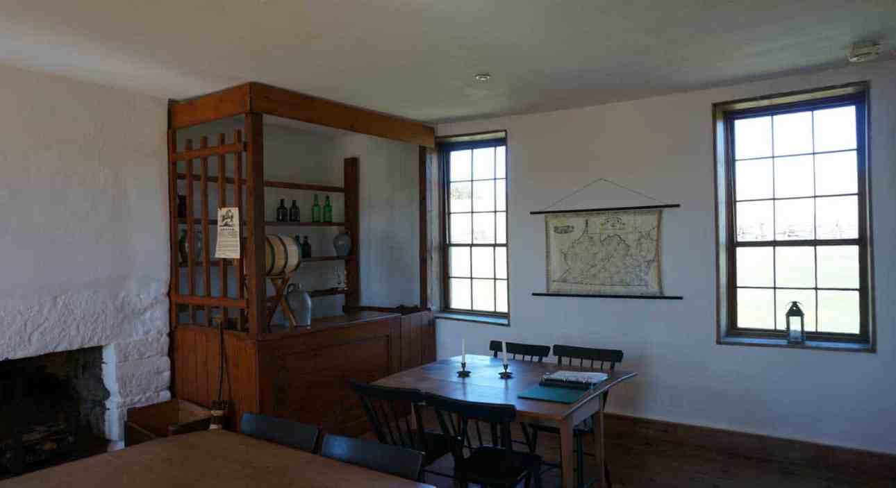 tavern room at stone house manassas