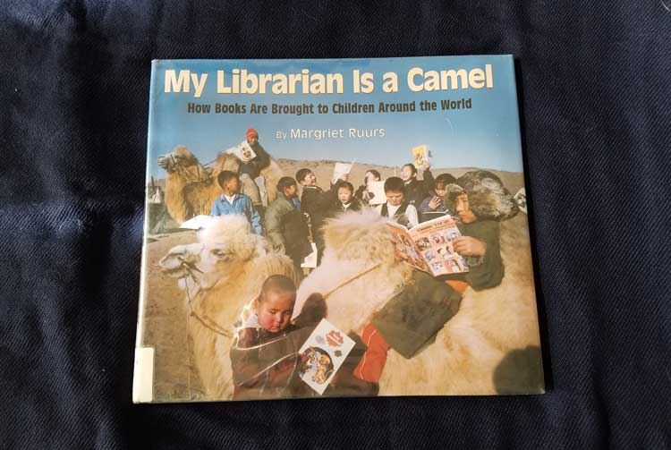 my librarian is a camel book about bookmobiles
