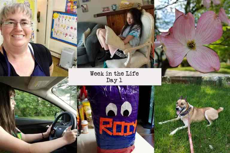Monday (Week in the Life 2018 Day 1)
