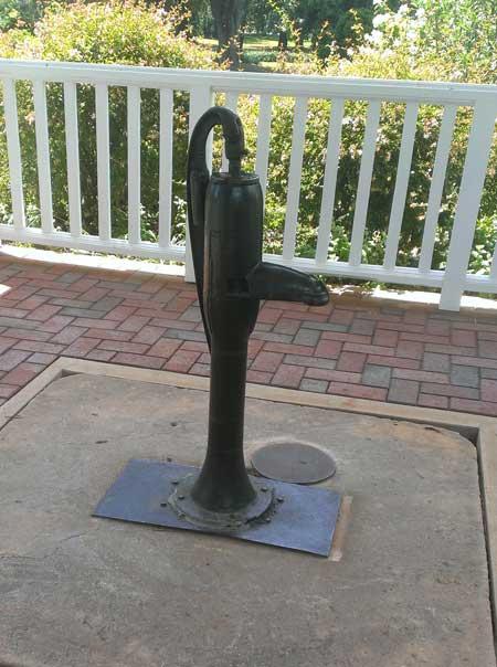 helen keller well hand pump for water