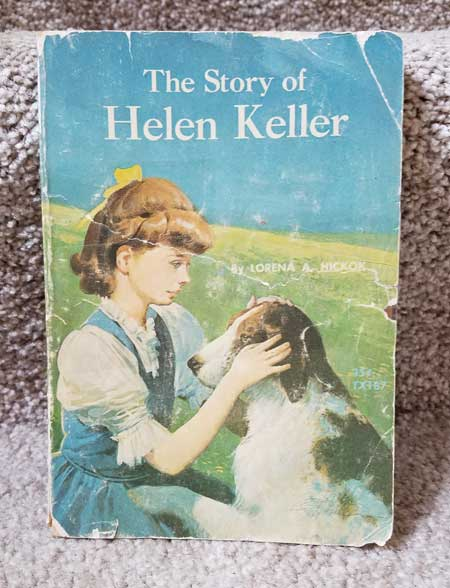 book cover the story of helen keller by Lorena Hickok
