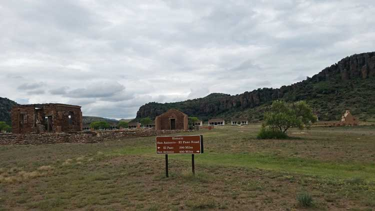 big trip 13 visits fort davis national historic site in texas