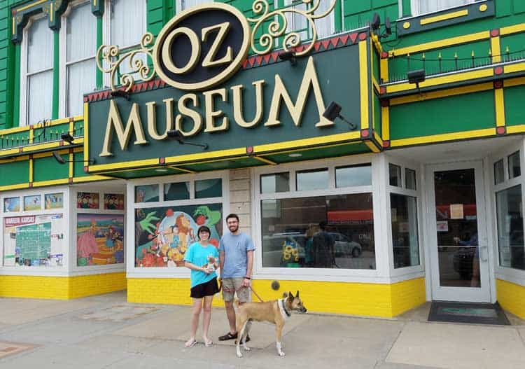 big trip 13 is looking for the emerald city at the oz museum in wamego, ks