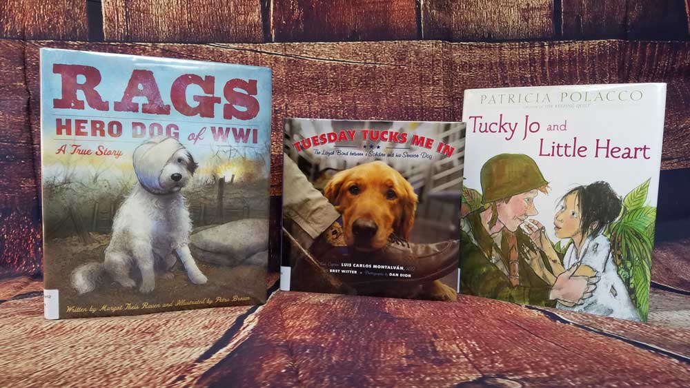 Books for Veterans Day via @behindeveryday