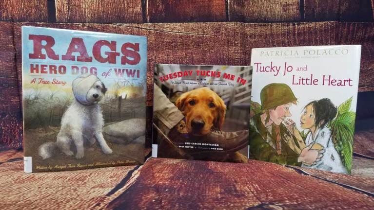 Books for Veterans Day