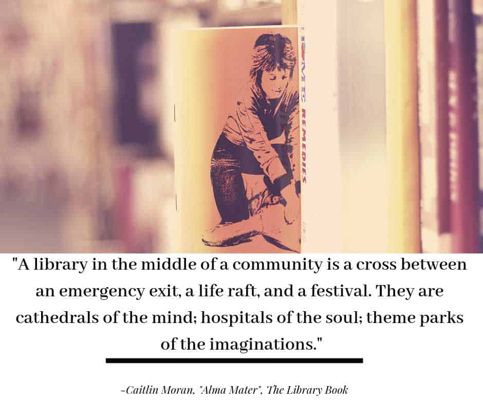 Alma Mater by Caitlin Moran, The Library Book