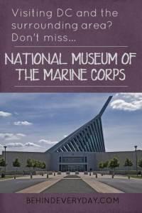 museum of the marine corps in quantico, VA near washington, DC