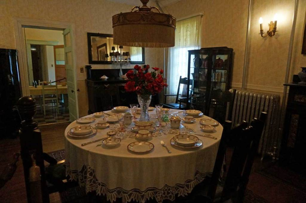 Maggie Walker National Historic Site dining room