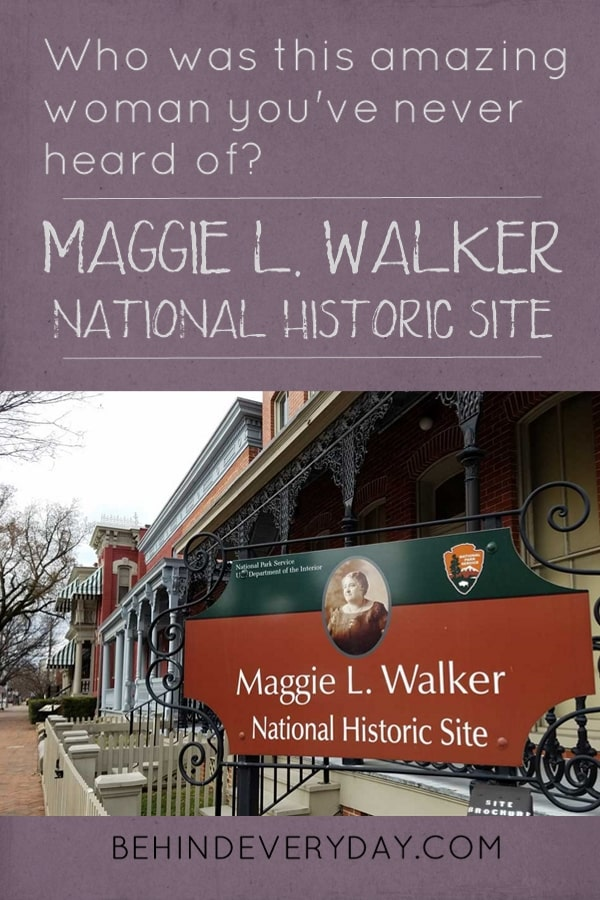 Maggie Walker National Historic Site - Who was this woman you may have never heard of before today? Not only was she the first African-American woman bank president in the US, but she also worked tirelessly to improve the lives of women and other African-Americans in her community and across the nation. Her views and methods formed the basis of what would become the Civil Rights Movement years later.