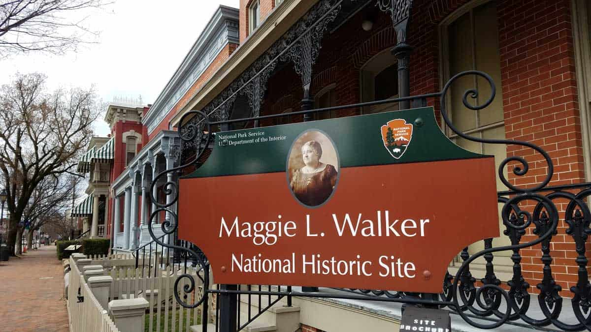 Maggie Walker National Historic Site via @behindeveryday