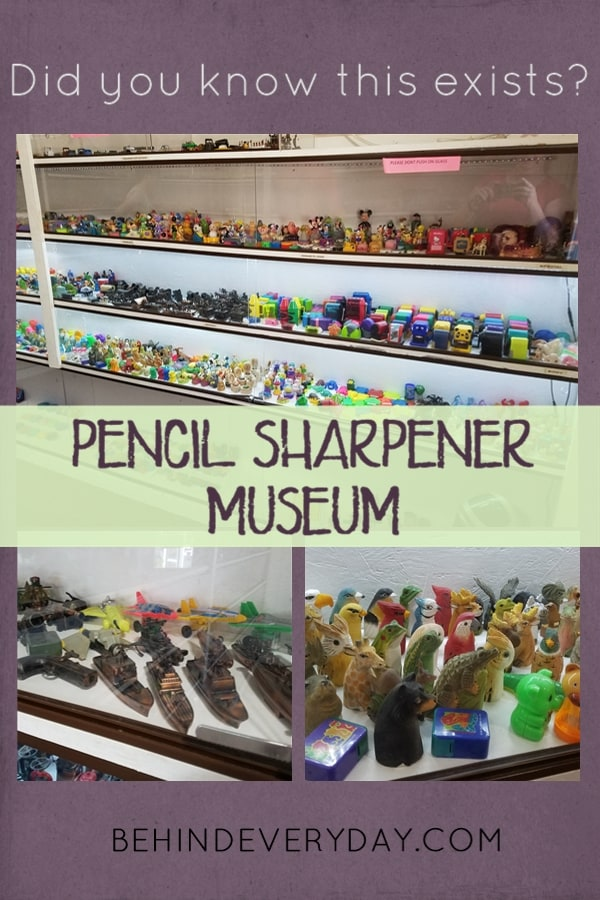 The town of Logan, Ohio is known for its Washboard Music Festival, its Washboard Factory, nearby state parks, and... The Paul A Johnson Pencil Sharpener Museum! This tiny gem of a museum is worth your time on your next visit to the Hocking Hills region of Ohio.
