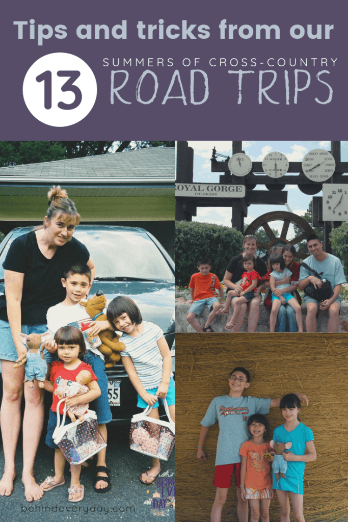 For 13 years I have driven my minivan full of children across the United States in our annual Big Trip summer road trip. Highways and back roads alike, looping our way around America, seeing everything we can each year. Listen to my interview with This Indulgent Life to hear my secrets, successes, and failures of family road trip travels that have been gathered on the road.