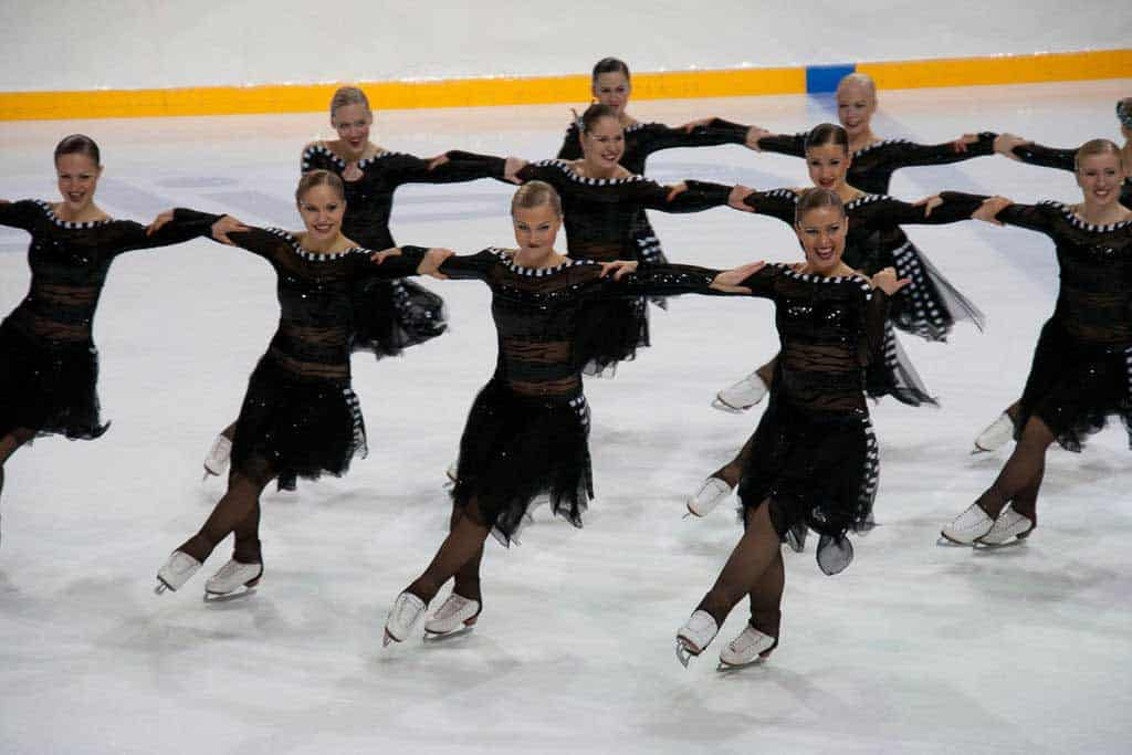 2009 Finnish Synchronized Ice Skating Team - The Rockettes