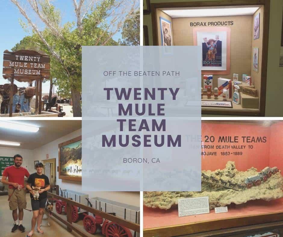 Twenty Mule Team Museum via @behindeveryday