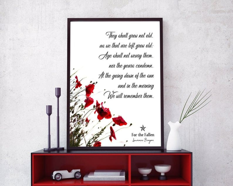 printable poem poster made by Pete of Find Your Prints