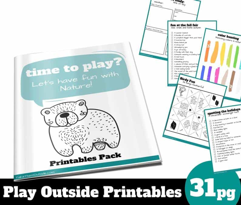 Play Outside Printables