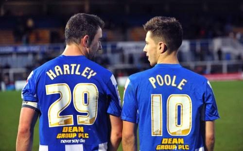 James Poole at Hartlepool United