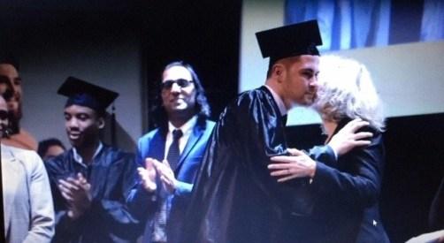 Deepak Trivedi at the graduation of his students