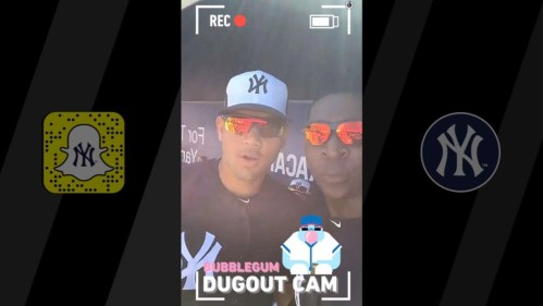 MLB link up with Snapchat
