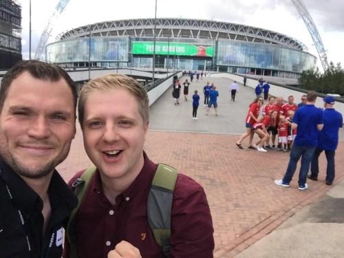 Jason at Wembley