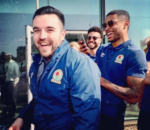 Ryan Grant Blackburn Rovers