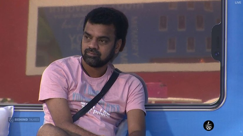 Balaji Sad In Bigg Boss