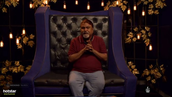 Ananth Vaithiyanadhan in confession room