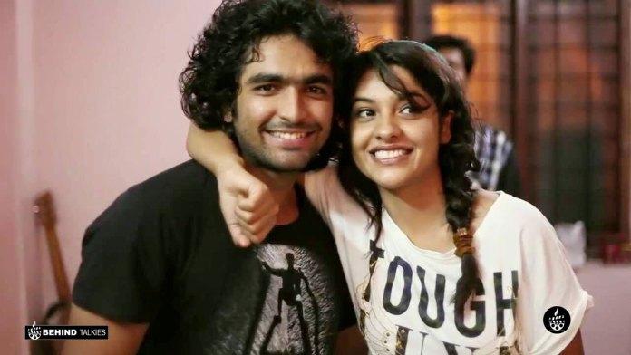 Archa Kavi with Siddharth menon