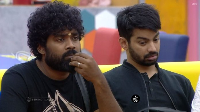 Danny and Mahat in Bigg Boss House