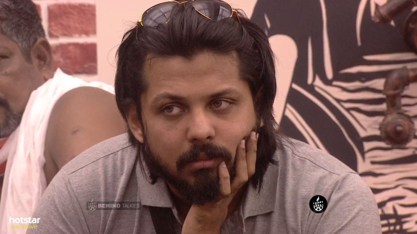 David John In Bigg Boss House Closeup