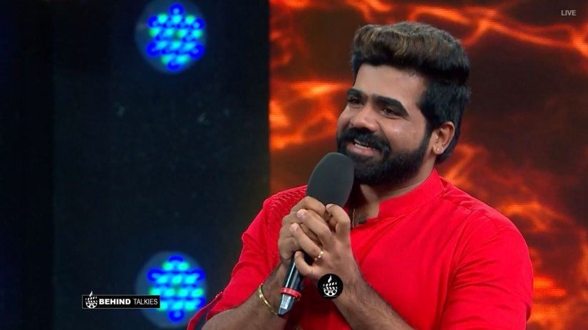Deepan Murali in Bigg Boss Stage