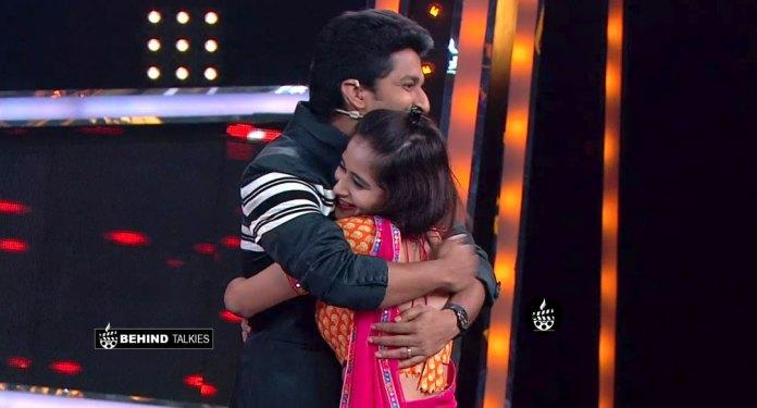 Deepthi Sunaiana Hugged Nani in Bigg Boss Telugu Season 2