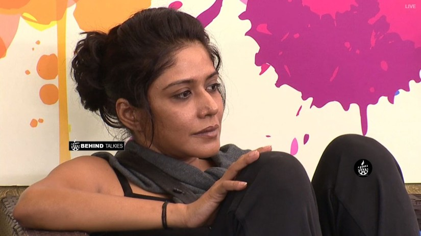 Mamathi Chari in Bigg Boss House