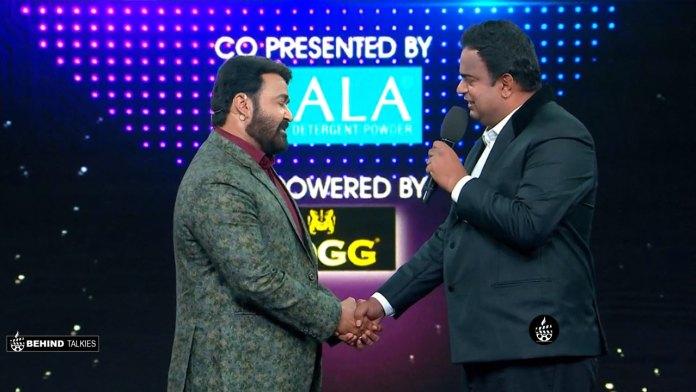 Manjo Varma in Bigg Boss with Mohalal