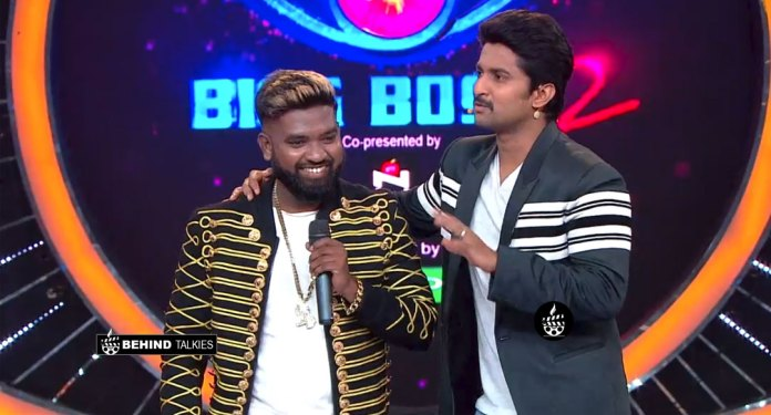 Roll Ridai with Nani in Bigg Boss Telugu