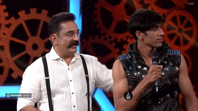 Shariq Hasan with Kamal in Bigg Boss