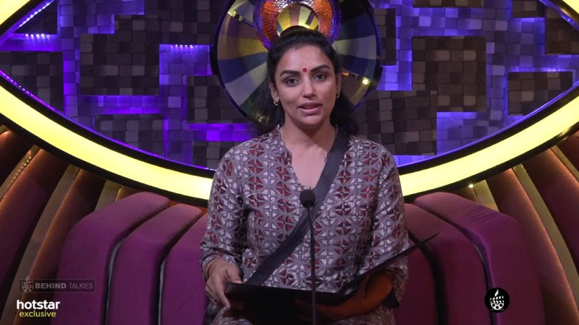 Shweta Menon Bigg Boss Confession Room